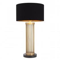Condo Antique Brass Table Lamp