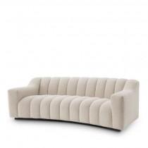 Kelly Small Boucle Cream Sofa