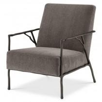 Antico Abrasia Grey Arm Chair