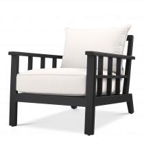 Cap-Ferrat Black Arm Chair
