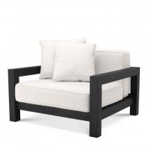 Cap-Antibes Black Armchair
