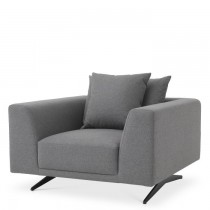 Endless Grey Wool Chair