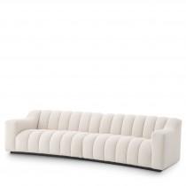 Kelly Large Boucle Cream Sofa