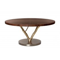 GINGER & JAGGER PRIMITIVE ROUND DINING TABLE