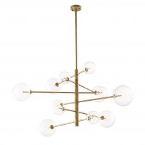 Eichholtz Argento Large Brass Chandelier finish lighting catalogue