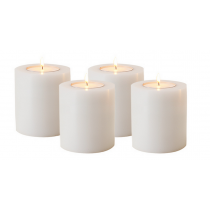EICHHOLT ARTIFICIAL CANDLE SET OF 4 LRG