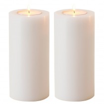 ARTIFICIAL CANDLE 21CM SET/TWO