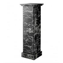Caselli Black Faux Marble Column
