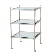 AUBREY SIDE TABLE SILVER