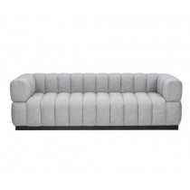 Marat Oscar Light Grey Velvet Sofa