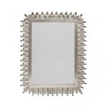 Caesar Silver Leaf Mirror