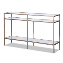 Oliver Antique Silver Console Table