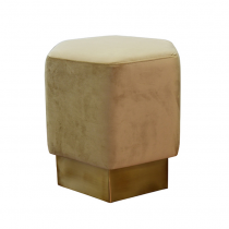 Asher Brass and Camel Stool