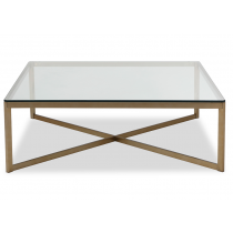 Musso Brass Coffee Table