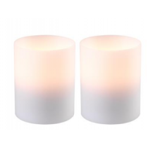 Artificial Candle Deep Small Set of 2