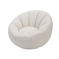 Paradise Boucle Swivel Chair