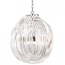 Marco Polo Large Nickel Chandelier