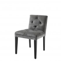 Eichholtz Cesare Granite Grey Dining Chair
