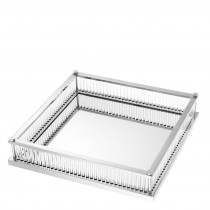 Cora Nickel Square Tray
