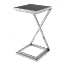 CROSS SIDE TABLE NICKEL