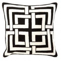 CUSHION BLAKES BLACK/WHITE