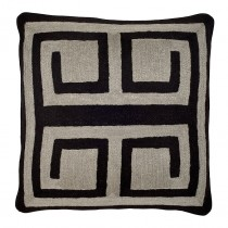 CUSHION BLISS BLACK/GREY