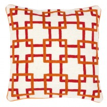 CUSHION BRADBURY ORANGE