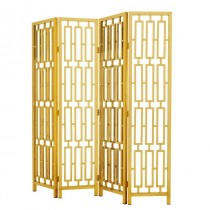 DAVIS FOLDING SCREEN BRASS