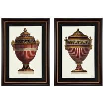 Eichholtz Empire Urns Prints Set Of 2