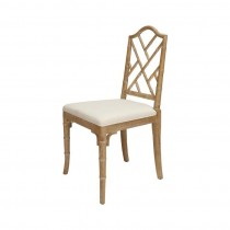 Fairfield Chippendale Bamboo Oak Dining Chair