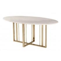 Fenty Brass Dining Table