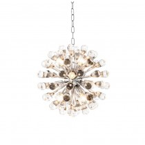 EICHHOLTZ ANTARES CHANDELIER NICKEL SMALL