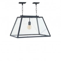 HARPERS LAMP SMALL ZINC