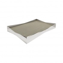 Hartford Nickel Frame Tray
