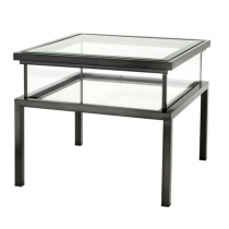 HARVEY SIDE TABLE BRONZE