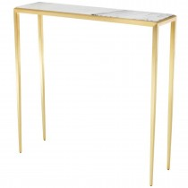 Henley Small Gold Console Table
