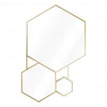 Hexa Gold Mirror