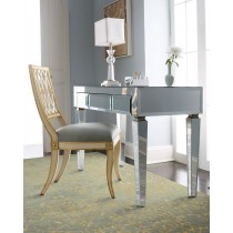 Jacklyn Beveled Mirror Desk