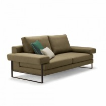 Kuadra 2-Seater Sofa - Multiple Colours/Finishes