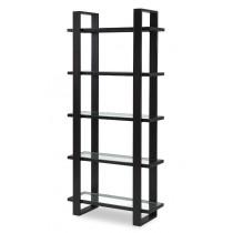 Arundel Dark Brown Bookcase