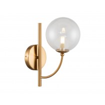 Ivy Antique Brass Wall Lamp