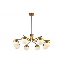 Kirby Brass Chandelier