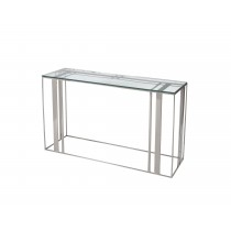 Lafayette Stainless Steel Console Table