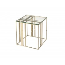 Lafayette Brass Side Table