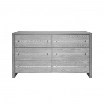 Luke Grey Cerused Oak Chest