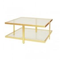 Maris Gold Leaf Coffee Table