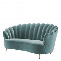 Messina Deep Turquoise Sofa