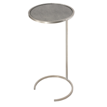 Worlds Away Monaco Side Table