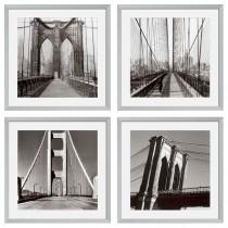 NEW YORK BRIDGES SET OF FOUR