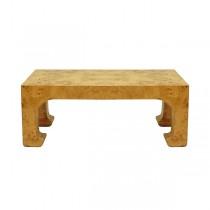 Nicola Burl Wood Coffee Table